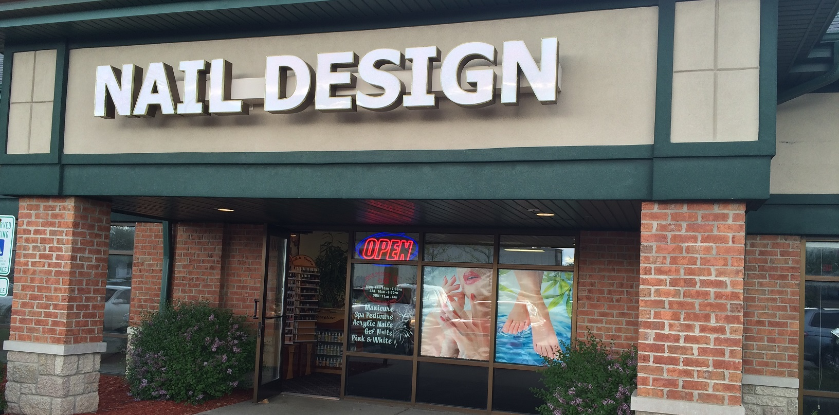 Home Page   Nails Design • 8880 S Howell Ave • Oak Creek, Wisconsin